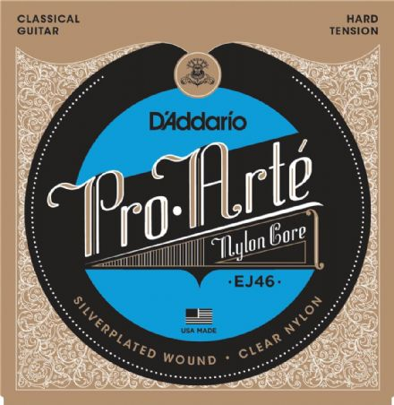 D'addario EJ46 Pro-Arte Hard Tension Nylon Classical Guitar Strings